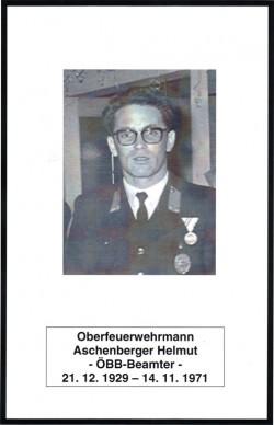 Sterbebild Aschenberger Helmut